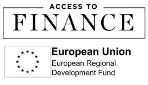 Access to Fiance and EU logo