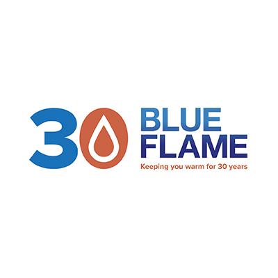 blue flame heating