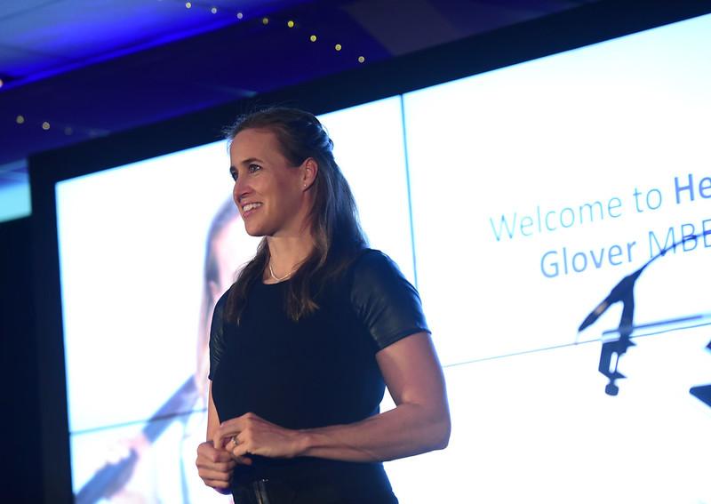 Celebrity speaker - Helen Glover MBE